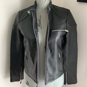 Genuine leather jacket size xs